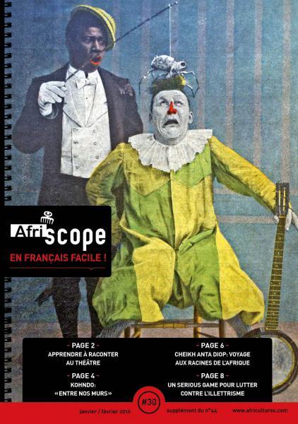 Afriscope en français facile # 30 : Un siècle après Clown Chocolat, les artistes noirs sur scène