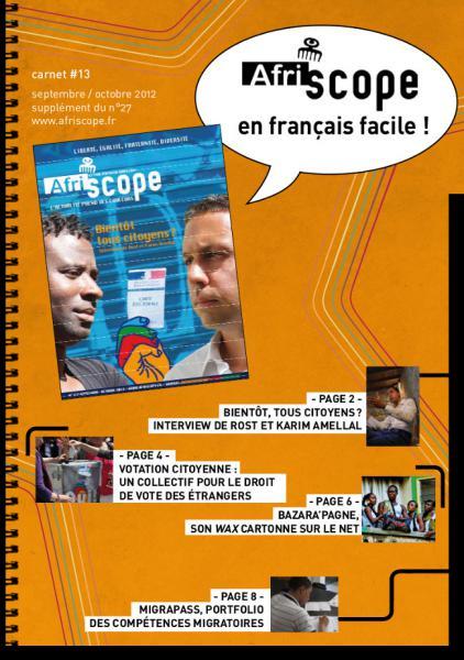 Afriscope en français facile #13 : Bientôt tous citoyen ?