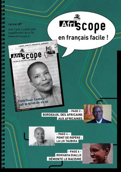 Afriscope en français facile #7 : Christiane Taubira fait le bilan de sa loi