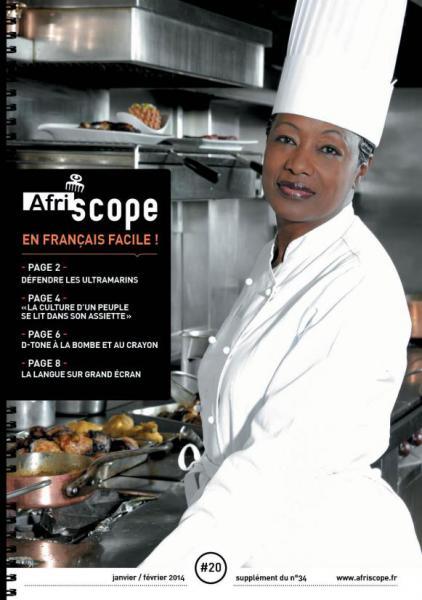 Afriscope en français facile # 20 : La culture d'un peuple se lit dans son assiette