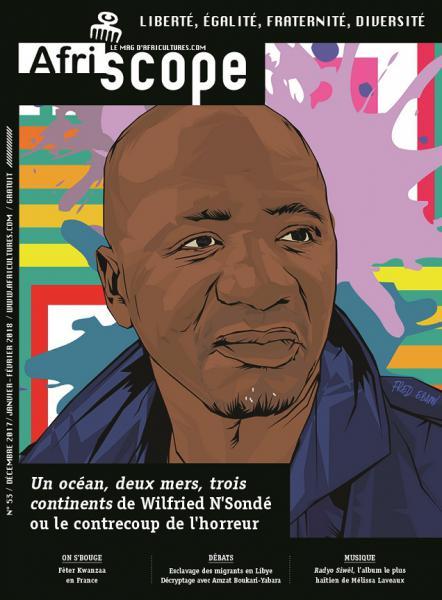 Un océan, deux mers, trois continents de Wilfried N'Sondé ou le contrecoup de l'horreur par Fred Ebami
