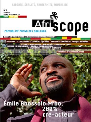 Émile Abossolo M'bo, 200% cré-acteur