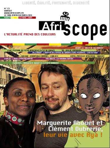 Marguerite Abouet et Clément Oubrerie, leur vie avec Aya !