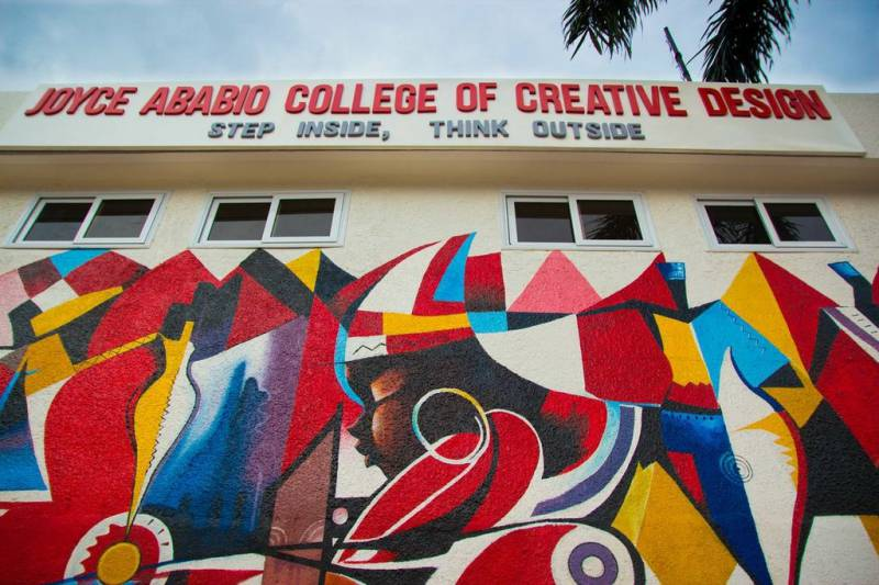 Joyce Ababio College Of Creative Design Fiche Structures